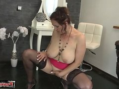 Horny housewife brutal sex