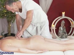 Massage Rooms Redhead loves to be fucked