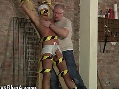 Young gay boys big sperm Slave Boy Made To