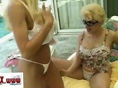 Big tits want a fuck#22 - Threesome tits
