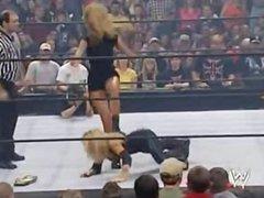 Trish vs Stacy bra & panties match