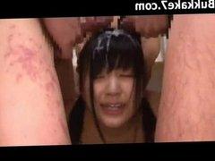 Japanese Bukkake Compilation 8762