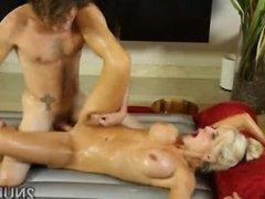 Tattooed slut gives nasty Nuru massage