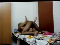 Desi Pune College Lovers Nude at Home Fucking
