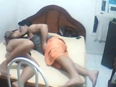 Desi Lover Nude at Home Enjoying Hot Sex Nake