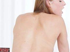 Glamour girl teaching sex