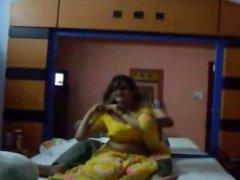 Horny Savita Bhabhi Nude With Lover Givng Blo