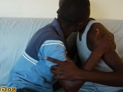 African amateur sucking on bbc after tugging