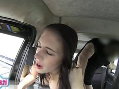 Busty girl first squirt