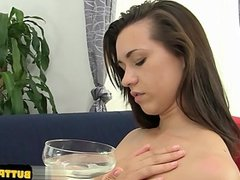 Hot pussy extreme throat fuck
