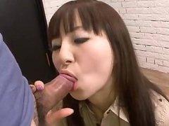 Big cocks to please cock sucking Hitomi Fuji