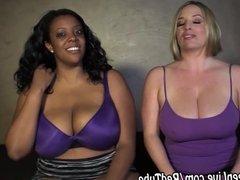 Maggie Green & Kristi Plays With Big Tits!