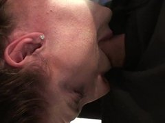 Samantha Bentley tied up, throated & doggied