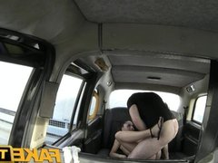 FakeTaxi Sassy Romanian with perfect tits