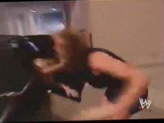 Stephanie Mcmahon & Sable Catfight