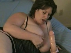 dates25com Bbw huge toy in my ass