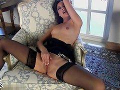 Horny girlfriend swallow