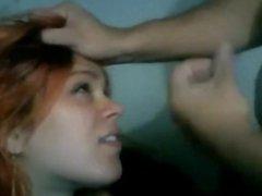 dates25com Redhead wife jen gets a facial fr