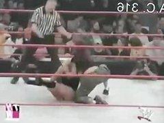 Trish Vs Lita Bra & Panties Match