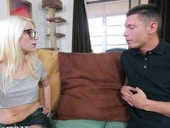 Blonde Piper Perri Takes Hard Dick