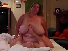 Big tits bbw rides cock dates25com