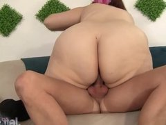 BBW Buxom Bella in a Holiday Fuck