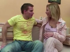 German Step-Sister get fucked by Step-Brother