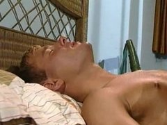 College Blonde Hot Guys Practicing Anal