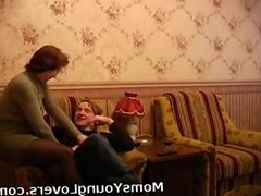 Redheaded granny loves young dick dates25com