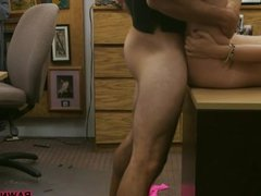Cuban hottie sells her TV and pounded