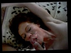 Milf gets cum pussy and mouth at the same tim