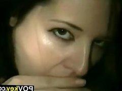 Ex Girlfriend Sucks Cock POV