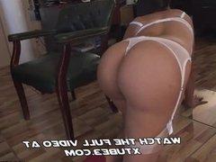 Our secretary has a big ass!