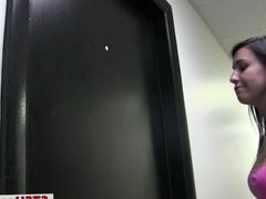 Naughty coeds masturbating in the dorm