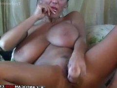 Milf teasing big tits tease