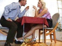 Under the Table (feet)