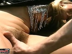 Sexy cowgirl friends fuck