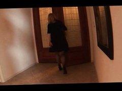 Housewife Nina Hartley fucks two black studs