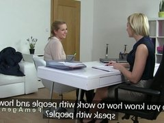 Natural blonde has first lesbian casting
