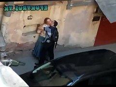 Russian amateur outdor sex
