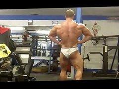 US Midwestern Farm Boy Bodybuilder