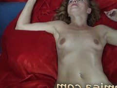 Czech MILF Misa gets spanked, dildo fucked an