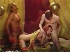 Arab In A Threesome With 2 Guys