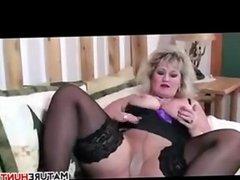 Thick Mature Slut In Stockings