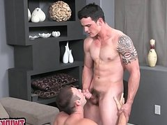 Horny cub anal first time