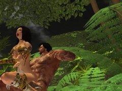 Sexo salvaje en el Amazonas I