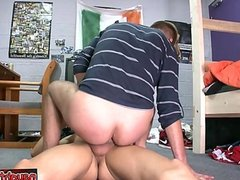 Cute daddy best anal fuck