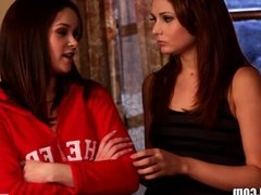 WebYoung Lesbian Cheerleaders 4Some