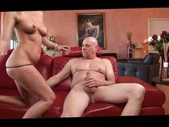 Blonde MILF pussy creampied for you