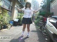 Japanese schoolgirl marbles insertion Subtitl